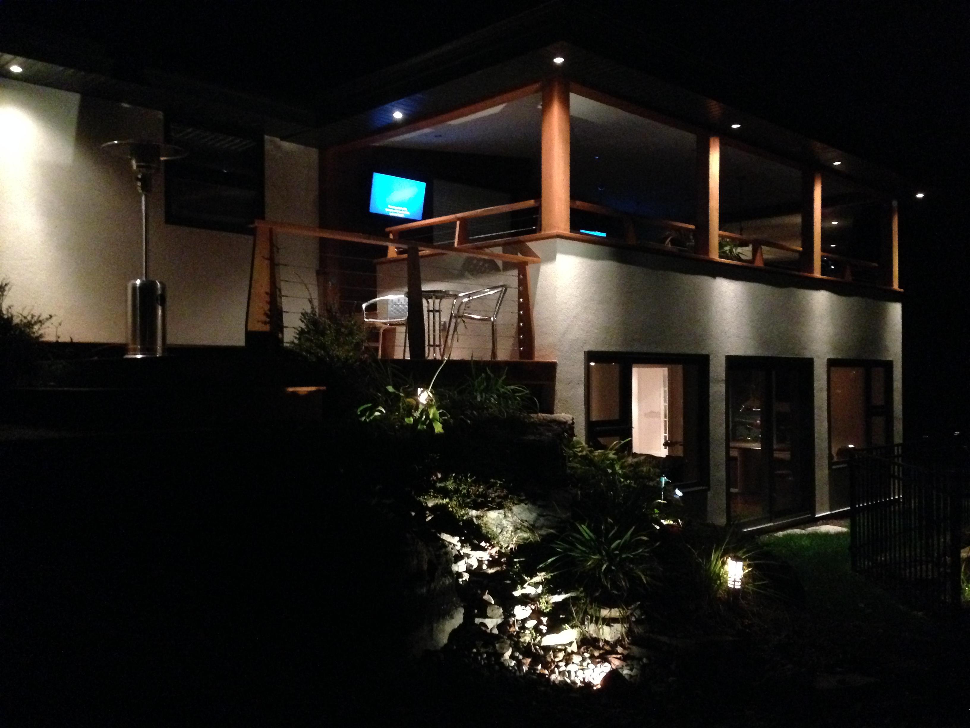 Eclairage exterieur terrasse fashion designs for Eclairage exterieur eclairage terrasse